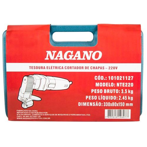 tesoura elétrica cortador de chapas elétrica 220v
