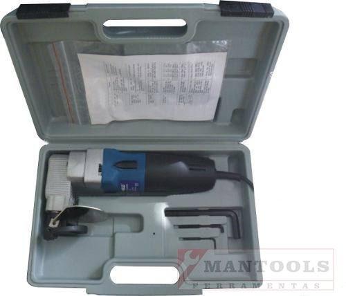 tesoura faca elétrica cortador de chapas aço inox-c/garantia