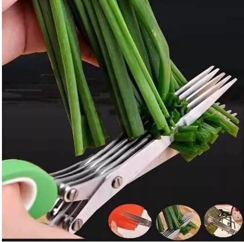 tesoura para legumes e verduras cozinha casa utilidades food