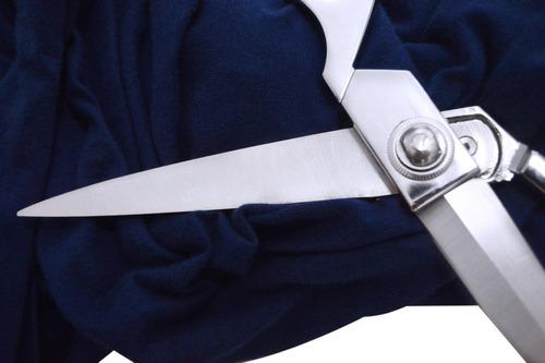 tesoura profissional alfaiate aço inox costura roupa tecido
