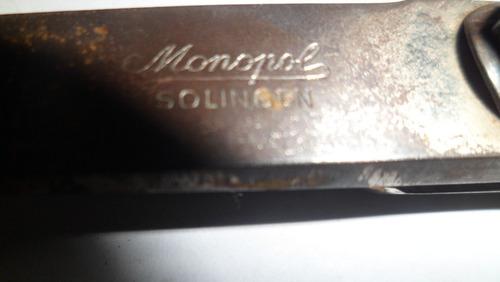 tesoura solingen monopol 15 cm antiga unica a venda frete gr
