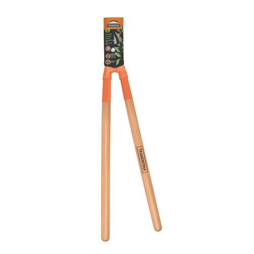 tesourao tramontina para podar cabo madeira