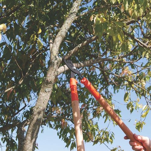 tesourão de poda galhos tramontina com cabo de madeira 43 cm