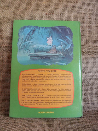 tesouro disney um gênio pouco genial e outras histórias 1987