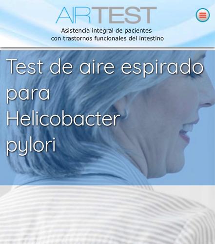 test de aire espirado para helicobacter pylori