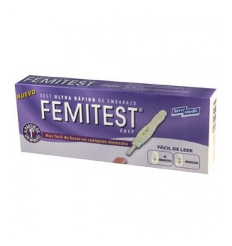 test de embarazo femitest easy