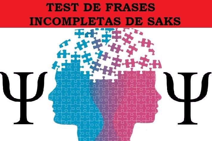 Test De Frases Incompletas De Saks Interpretación Pruebas