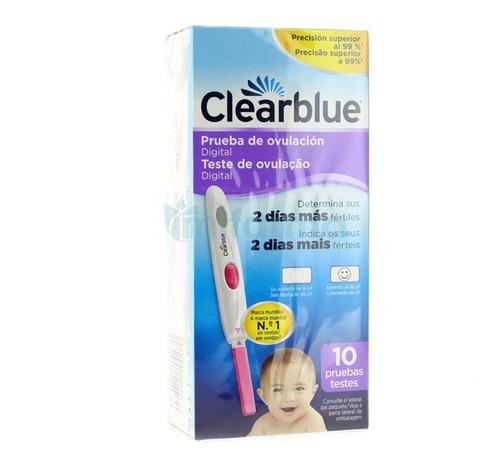 test de ovulación clearblue digital, marca #1 recomendada