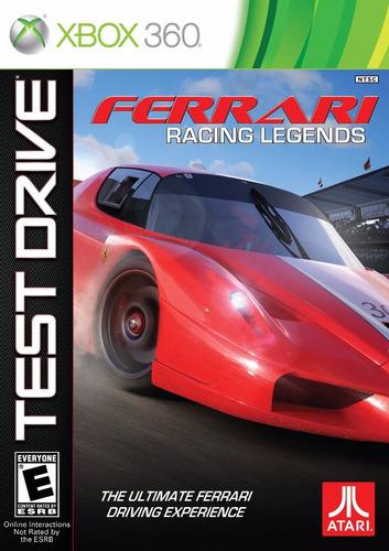 test drive ferrari legends nuevo sellado xbox 360