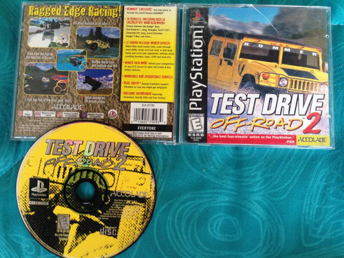 test drive off road 2 / playstation 1 ps1 / ps2 ps3