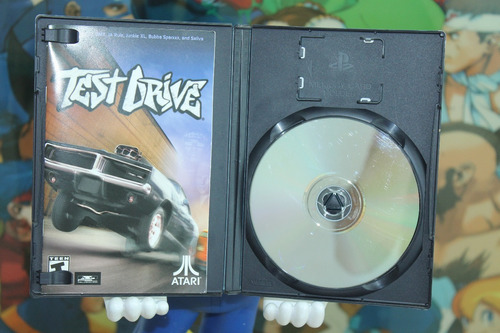 test drive para playstation 2. completo. excelente cond.