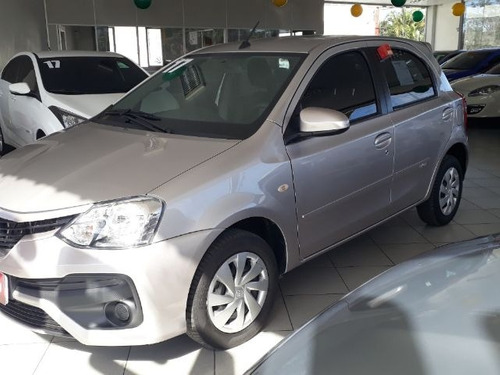test ml toyota etios 1.5 16v ready! aut. 5p