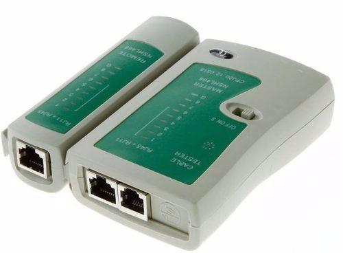 testador cabos de rede lan rj 45 rj 11 ns 468 telefonia