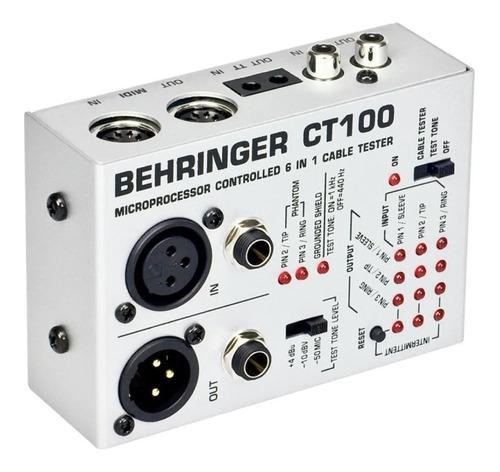 testador de cabos ct100 behringer nfe