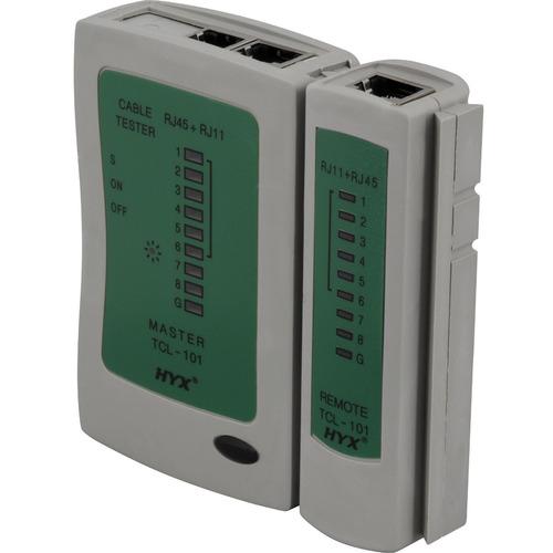 testador de cabos lan rj-11 e rj-45 tcl-101 hyx