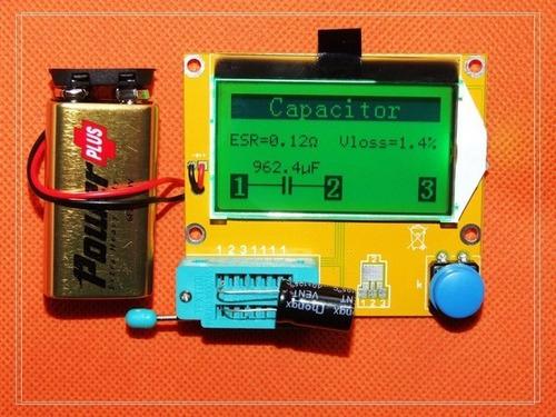 testador de componentes,transistor,resistor,diodo,mosfet...