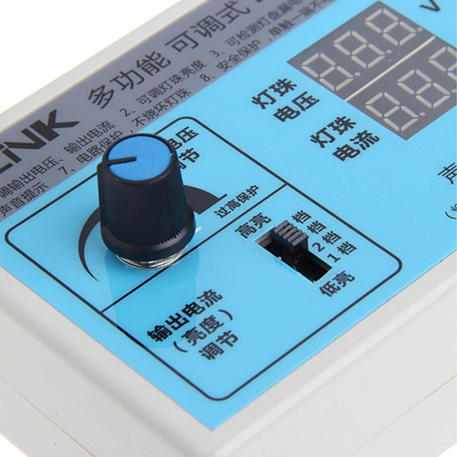 testador de leds tv , note etc c/ ajuste de corrente - 220v