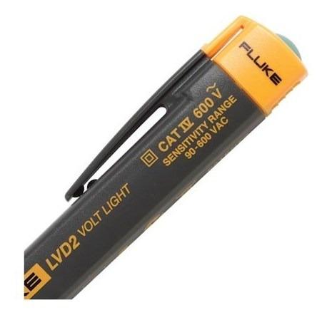 testador de tensão elétrica sem contato fluke lvd2