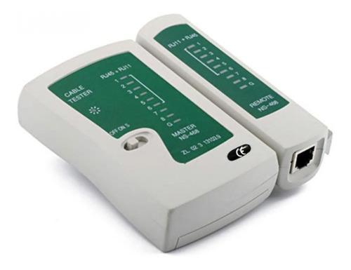 testador para cabos de rede lan rj45 rj11 rj12 multifunção