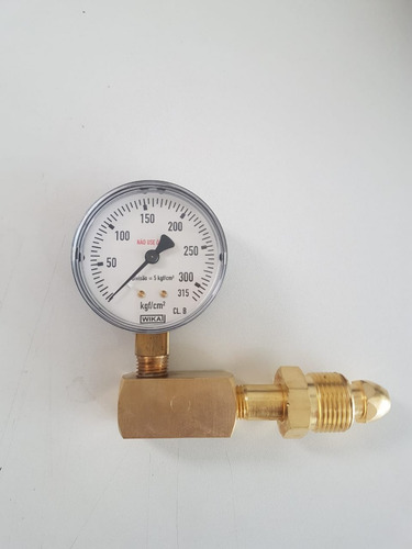 testador para cilindro de nitrogênio