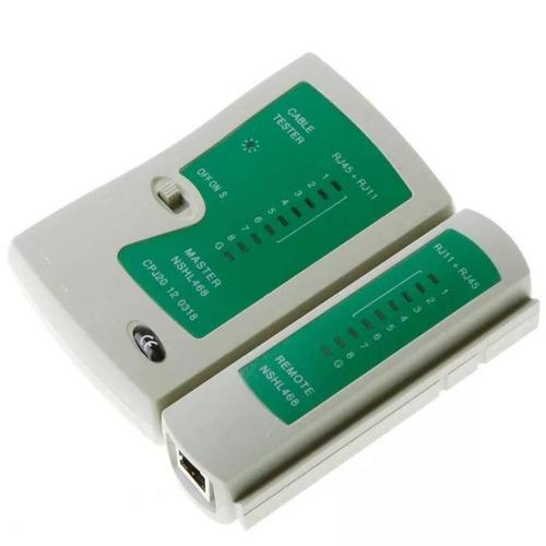 testador teste crimpagem cabo rede lan telefonia rj45 rj11