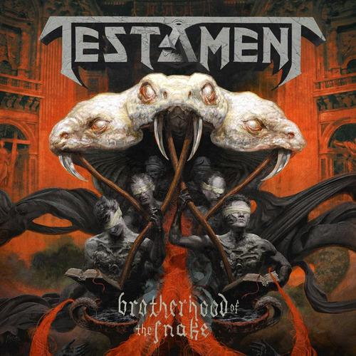 testament - brotherhood of the snake - vinilo doble nuevo