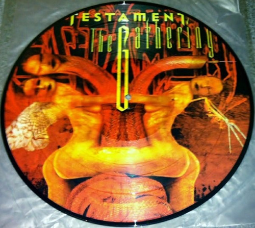 testament lp picture disc the gathering ultra raro
