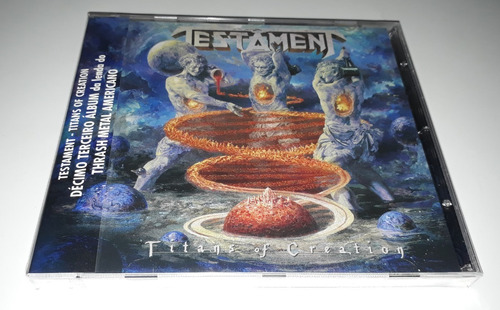 testament - titans of creation (cd lacrado)