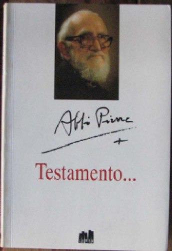 testamento? - pierre, abbe - lumen - 1995