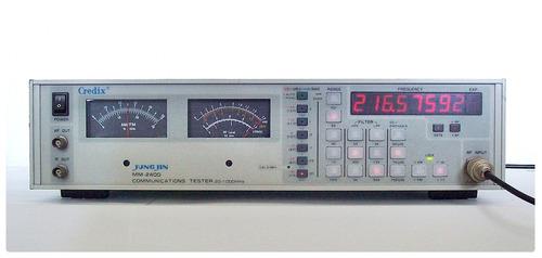 teste comunicação rf credix mm-2400 1ghz : não é gerador