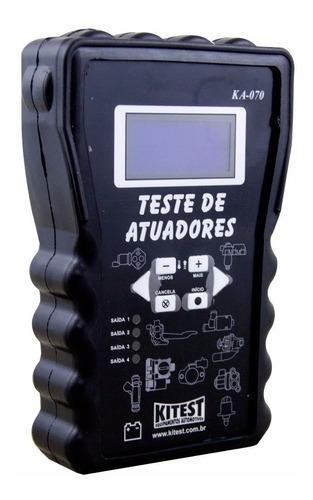 teste de atuadores ka-070 kitest