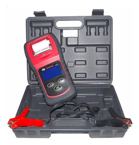 teste de bateria automotivo digital com impressora