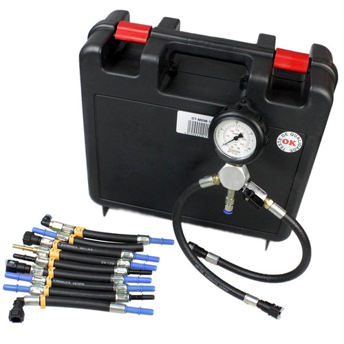 teste de pressão e vazão bomba combustível p/ motos st-mbm11