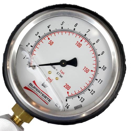 teste de pressão vazão bomba combustível superteste-stmpb17