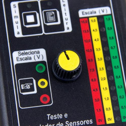 teste e simulador de sensores 12v kitest ka004