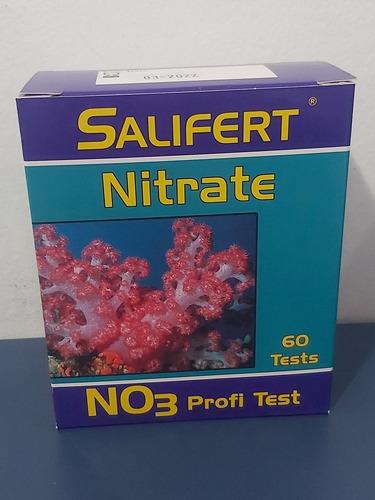 teste nitrato salifert (60 testes)