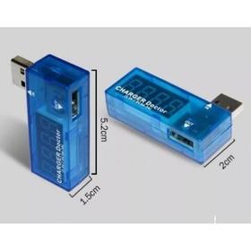 Teste Porta Usb Amperagem E Voltagem Tester Digital
