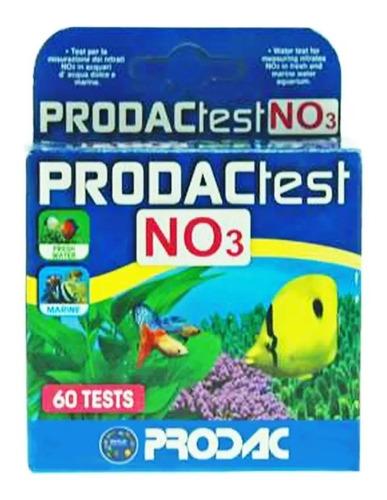 teste prodac nitrato no3 aquário doce e marinho 60 testes