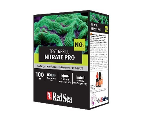 teste red sea rcp nitrato no³ pro - refil