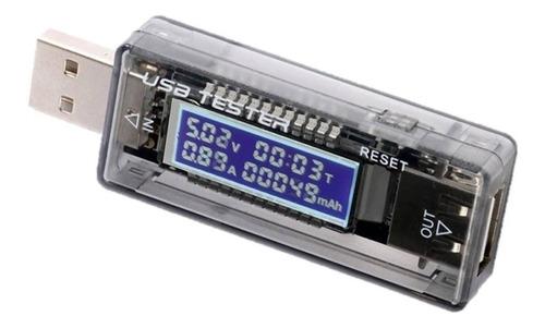 teste - testador de porta usb medidor de voltagem e corrente
