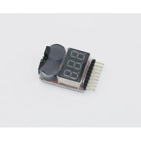 Teste Voltímetro Monitor Buzzer Alarm Para Baterias