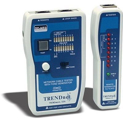 testeador trendnet para cable de red  tc-nt2