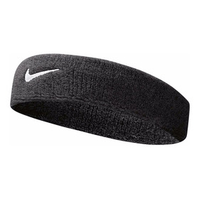 Testeira Swoosh Headband Preta - Nike