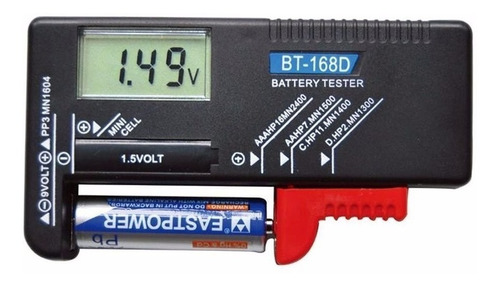 tester baterias y pilas aa aaa digital - factura a / b