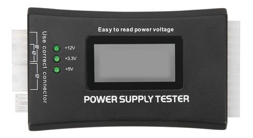 tester de fuentes de poder atx itx btx +3.3v +5v  12v pci ex