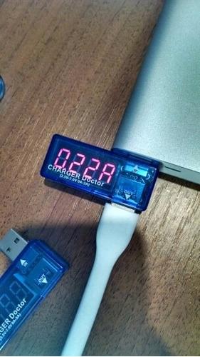 tester de voltaje y corriente usb digital cargador y otros