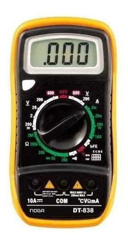 tester digital con temperatura noganet (dt-838) - dixit pc