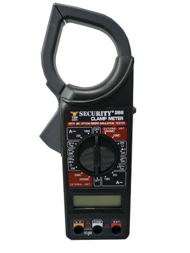 tester digital pinza amperimetrica con estuche voltimetro