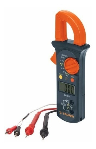 tester digital pinza amperimetrica truper mut-202 electr mf