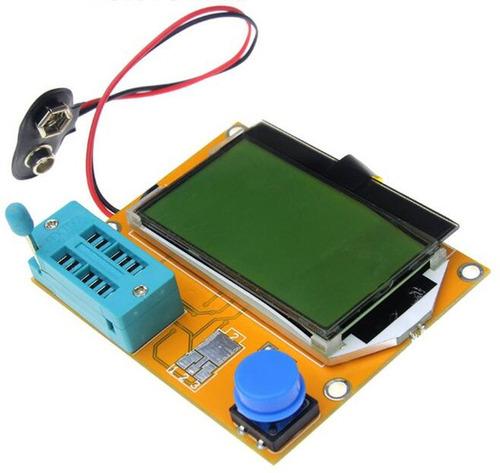 tester diodo triodo transistor capacitancia esr mos npn lcr